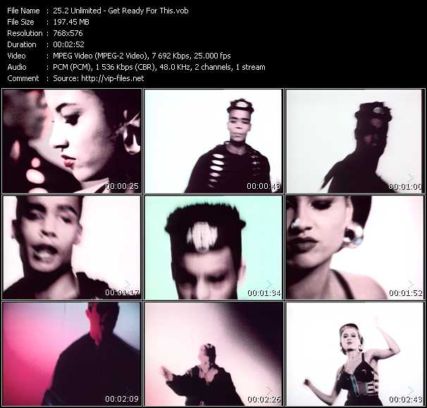 2 Unlimited video - Get Ready For This