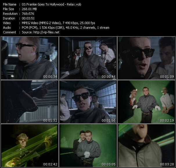 Frankie Goes To Hollywood HQ Videoclip «Relax»