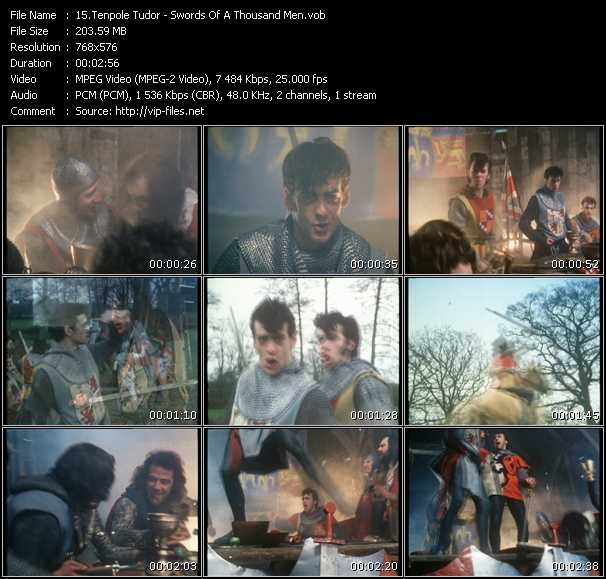 Tenpole Tudor HQ Videoclip «Swords Of A Thousand Men»