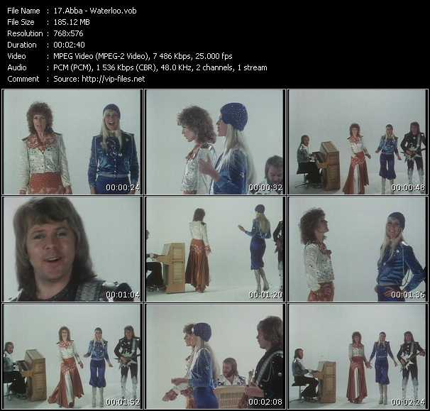 Abba HQ Videoclip «Waterloo»
