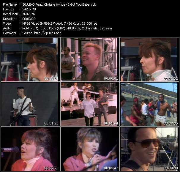 Ub40 And Chrissie Hynde HQ Videoclip «I Got You Babe»
