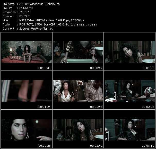 Amy Winehouse HQ Videoclip «Rehab»