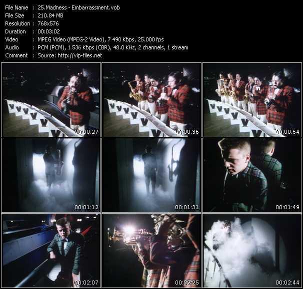 Madness HQ Videoclip «Embarrassment»
