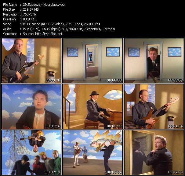 Squeeze HQ Videoclip «Hourglass»