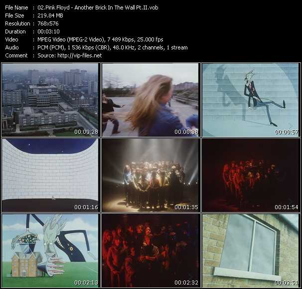 Pink Floyd HQ Videoclip «Another Brick In The Wall Pt.II»