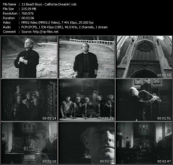 Beach Boys HQ Videoclip «California Dreamin'»
