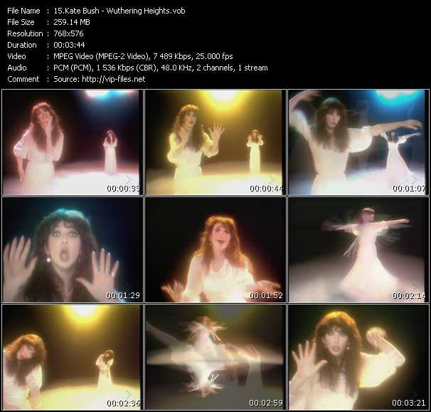 Kate Bush HQ Videoclip «Wuthering Heights»