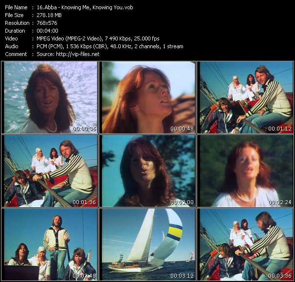 Abba HQ Videoclip «Knowing Me, Knowing You»