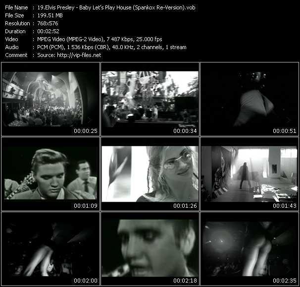 Elvis Presley HQ Videoclip «Baby Let's Play House (Spankox Re-Version)»
