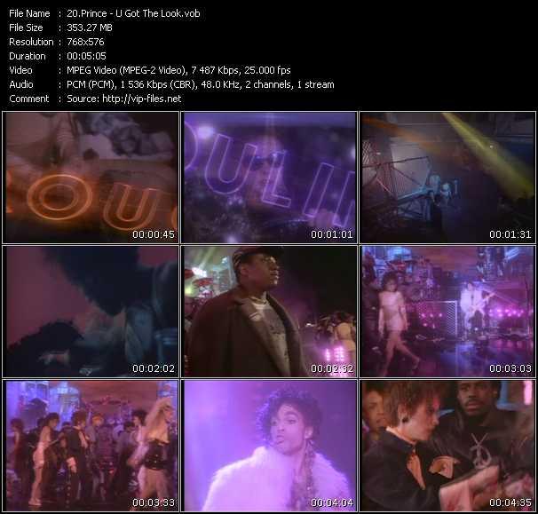 Prince Feat. Sheena Easton HQ Videoclip «U Got The Look»