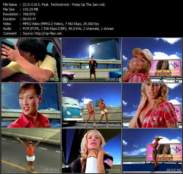 D.O.N.S. Feat. Technotronic music video Publish2