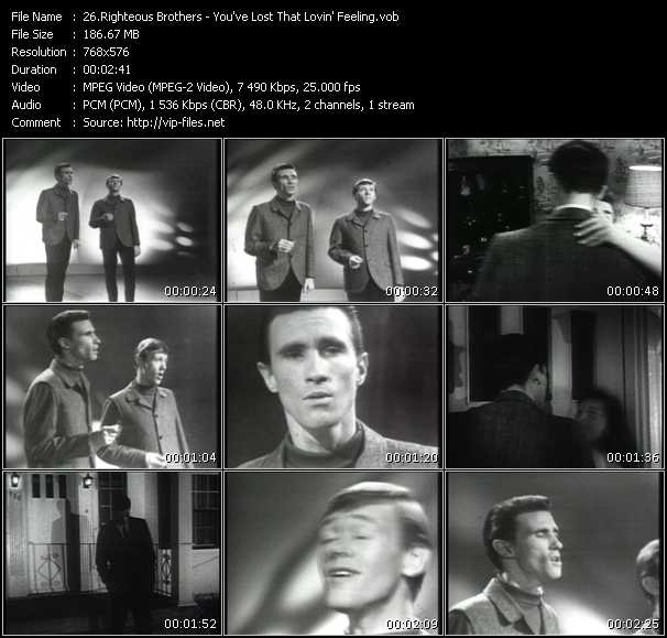 Righteous Brothers HQ Videoclip «You've Lost That Lovin' Feeling»