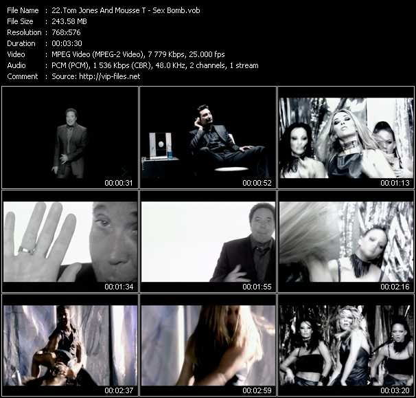 Tom Jones And Mousse T. HQ Videoclip «Sex Bomb»