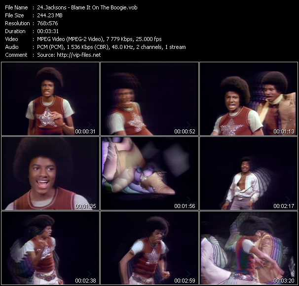 Michael Jackson And The Jacksons (Jackson 5) HQ Videoclip «Blame It On The Boogie»