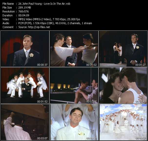 John Paul Young HQ Videoclip «Love Is In The Air»