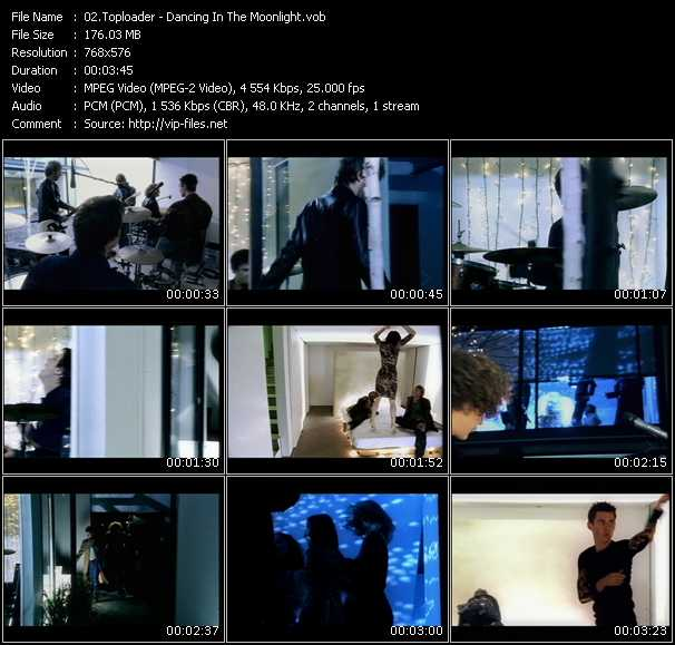 Toploader HQ Videoclip «Dancing In The Moonlight»