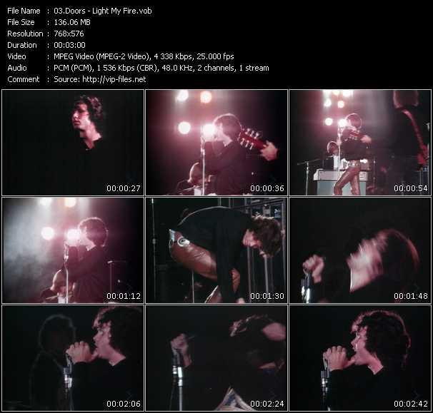Doors HQ Videoclip «Light My Fire»