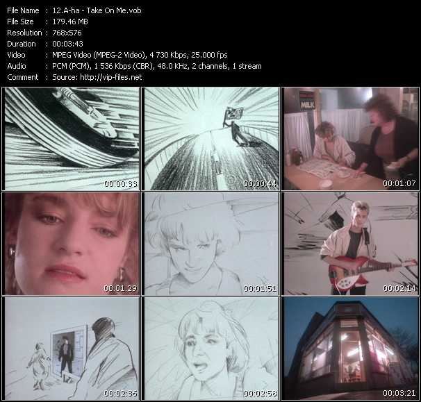 A-Ha video - Take On Me