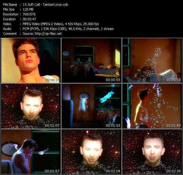 Soft Cell HQ Videoclip «Tainted Love»