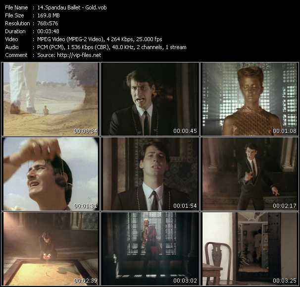 Spandau Ballet HQ Videoclip «Gold»