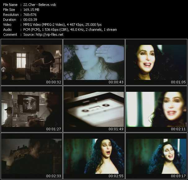 Cher HQ Videoclip «Believe»