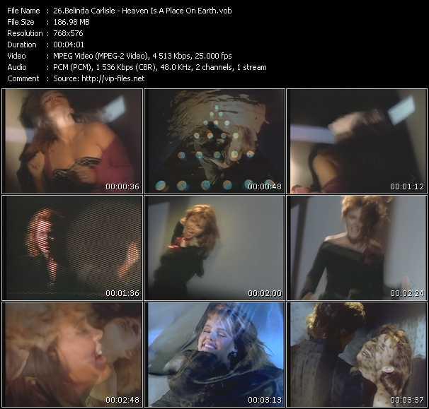 Belinda Carlisle HQ Videoclip «Heaven Is A Place On Earth»