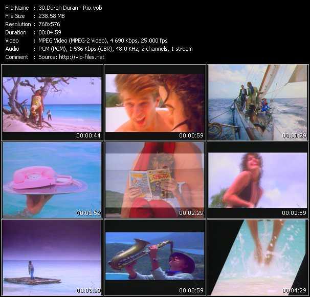 Duran Duran HQ Videoclip «Rio»