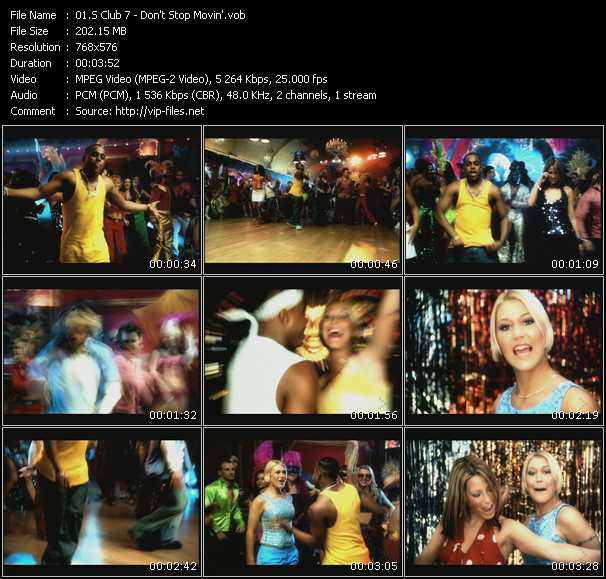 S Club 7 HQ Videoclip «Don't Stop Movin'»