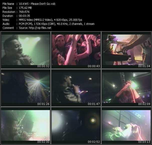 Kws (K.W.S.) HQ Videoclip «Please Don't Go»