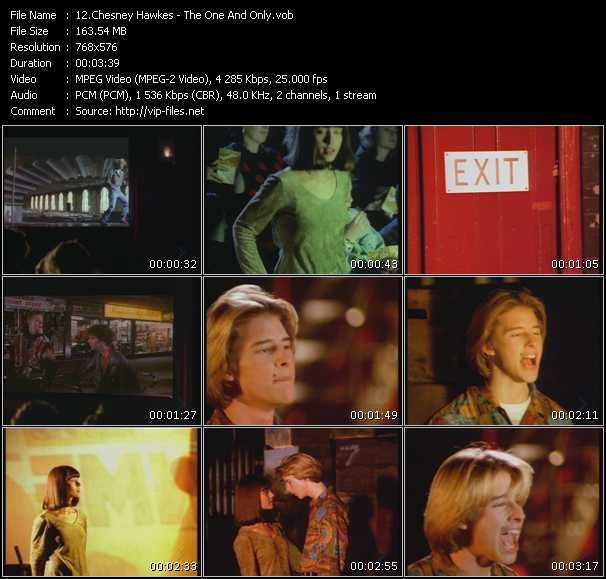 Chesney Hawkes HQ Videoclip «The One And Only»