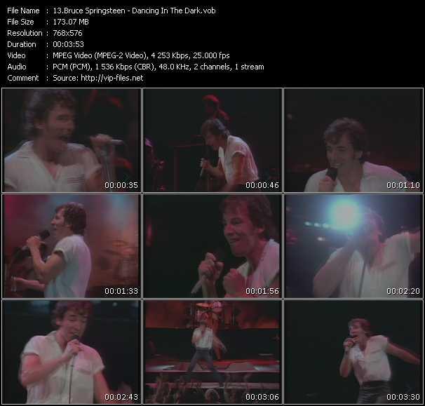Bruce Springsteen HQ Videoclip «Dancing In The Dark»