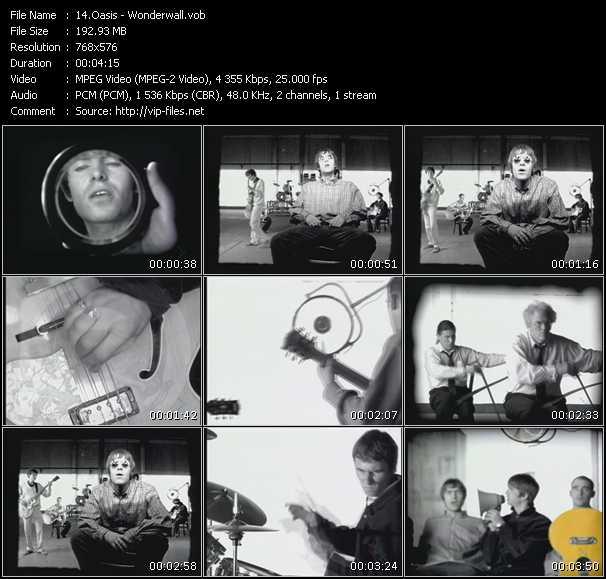 Oasis HQ Videoclip «Wonderwall»