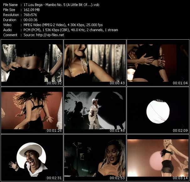Lou Bega HQ Videoclip «Mambo No. 5 (A Little Bit Of...)»