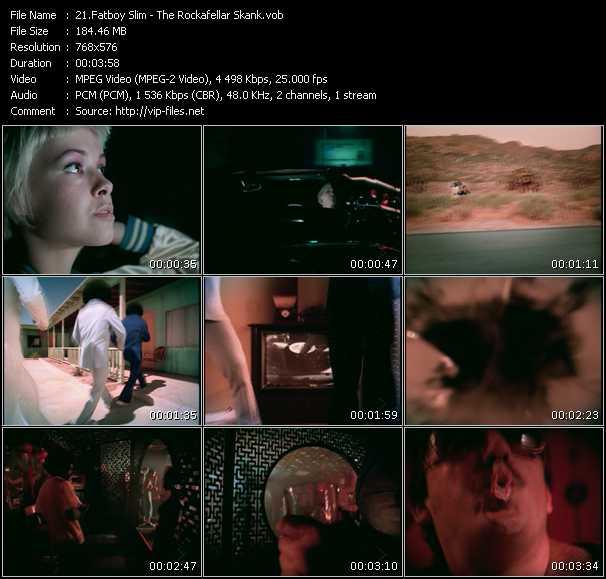 Fatboy Slim HQ Videoclip «The Rockafellar Skank»