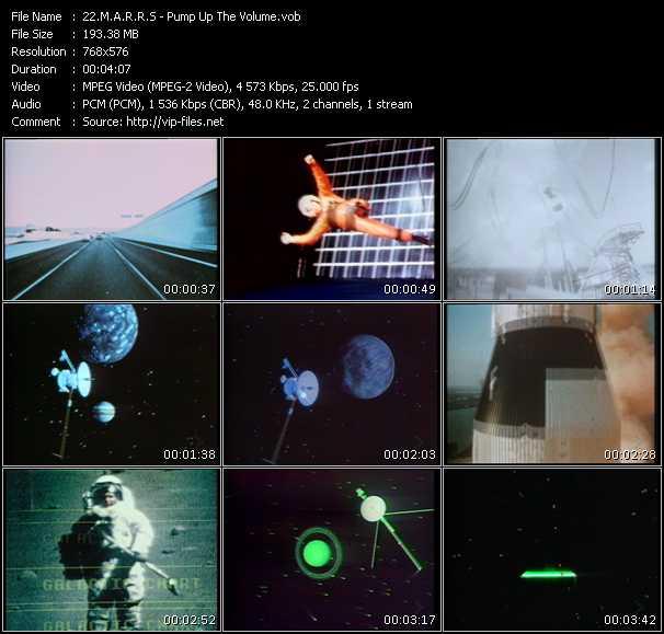 M.A.R.R.S. HQ Videoclip «Pump Up The Volume»