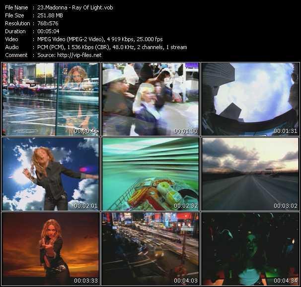 Madonna HQ Videoclip «Ray Of Light»