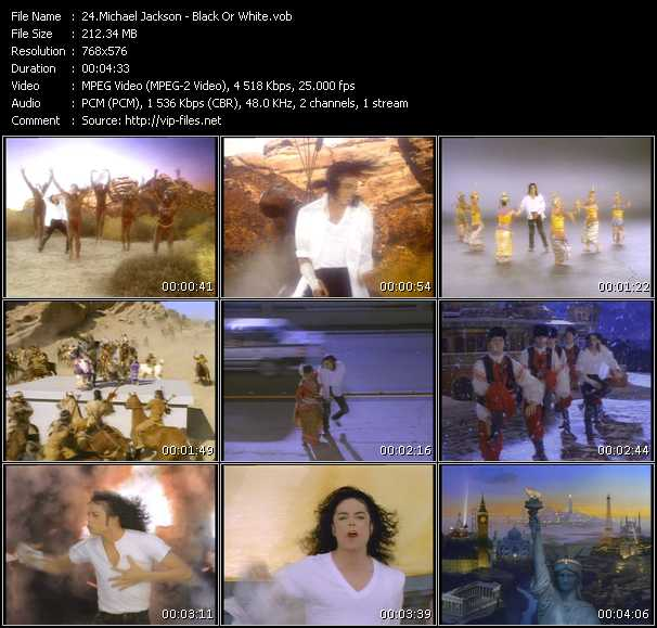 Michael Jackson HQ Videoclip «Black Or White»