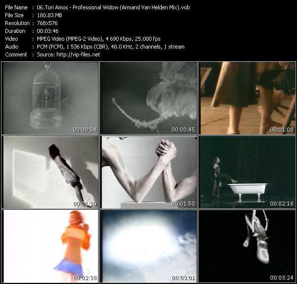 Tori Amos HQ Videoclip «Professional Widow (Armand Van Helden Mix)»