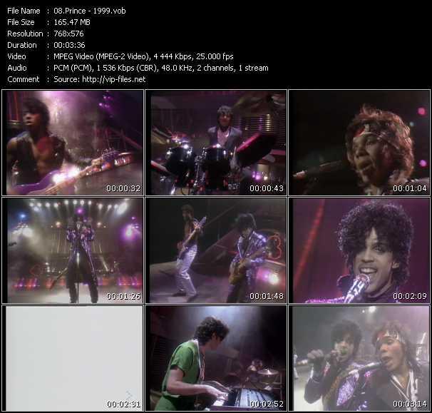 Prince HQ Videoclip «1999»