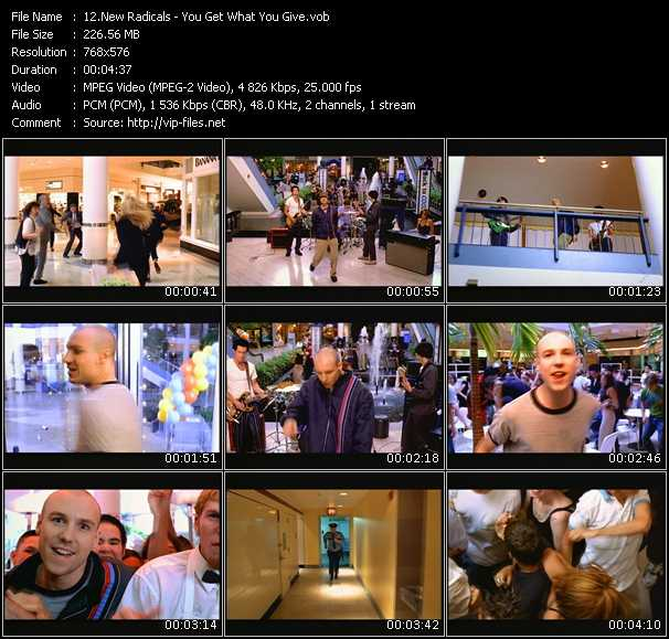 New Radicals HQ Videoclip «You Get What You Give»
