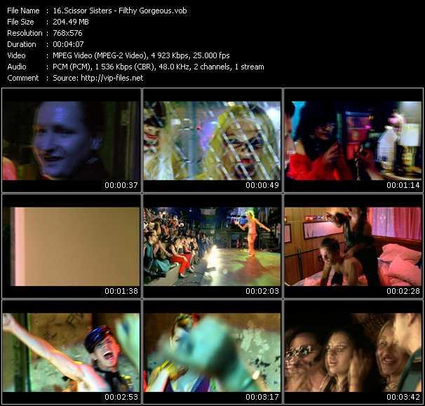 Scissor Sisters HQ Videoclip «Filthy - Gorgeous»