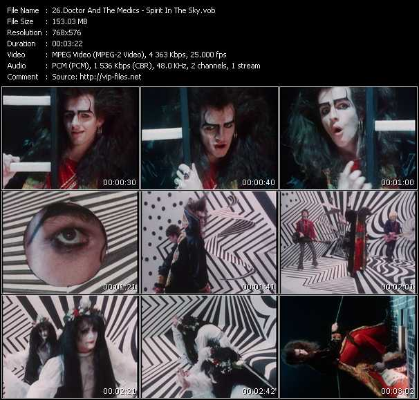 Doctor And The Medics HQ Videoclip «Spirit In The Sky»
