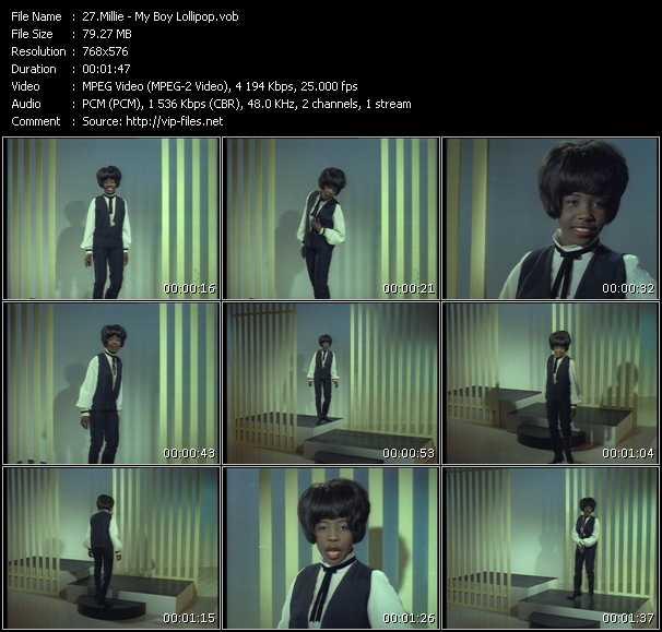 Millie (Millie Small) HQ Videoclip «My Boy Lollipop»