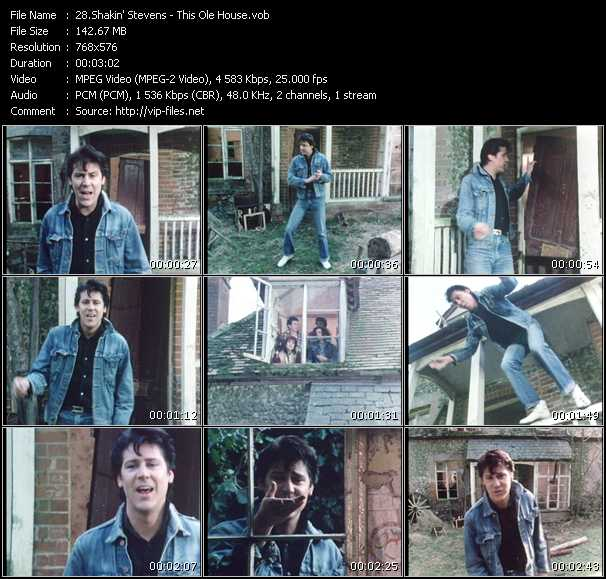Shakin' Stevens HQ Videoclip «This Ole House»