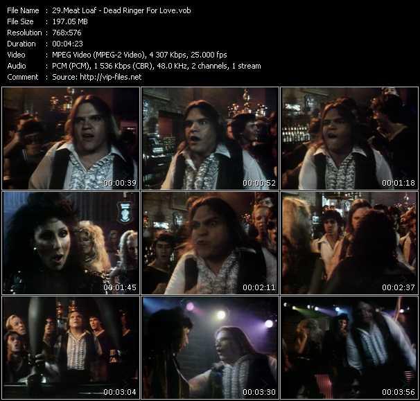 Meat Loaf HQ Videoclip «Dead Ringer For Love»