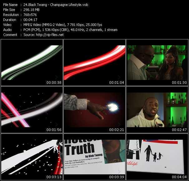 Black Twang HQ Videoclip «Champagne Lifestyle»