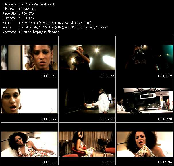 Snc HQ Videoclip «Rappel-Toi»