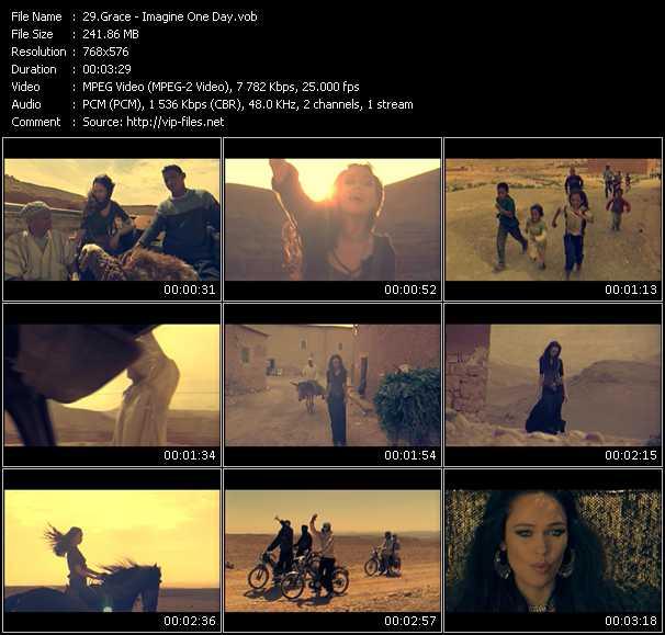 Grace HQ Videoclip «Imagine One Day»