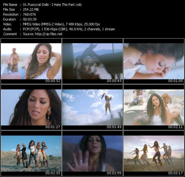 Pussycat Dolls HQ Videoclip «I Hate This Part»