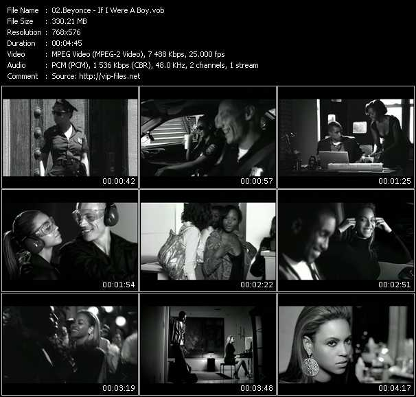 Beyonce HQ Videoclip «If I Were A Boy»